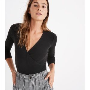 Madewell Other - Madewell black body suit (NWT)